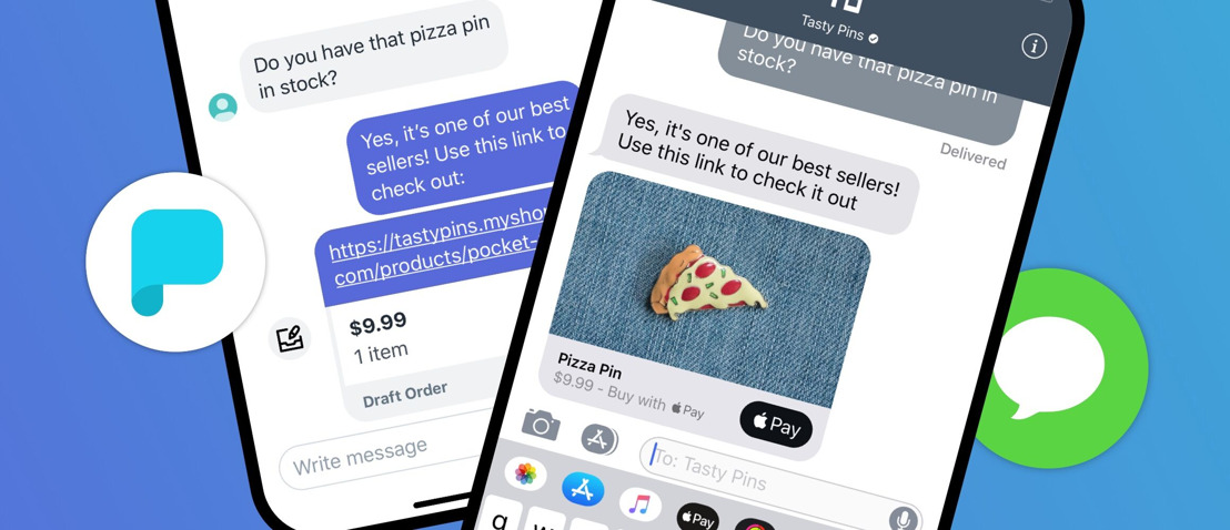 Connect with your customers on Apple Business Chat through Shopify Ping