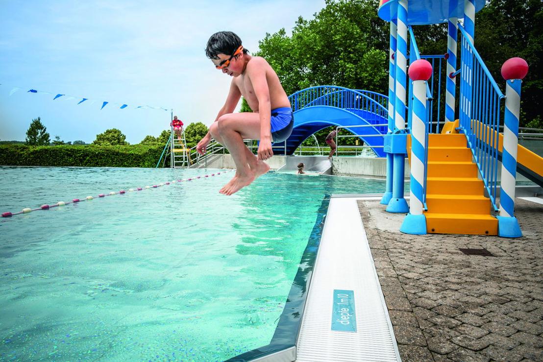 Zwemmen in open lucht vanaf 1 mei