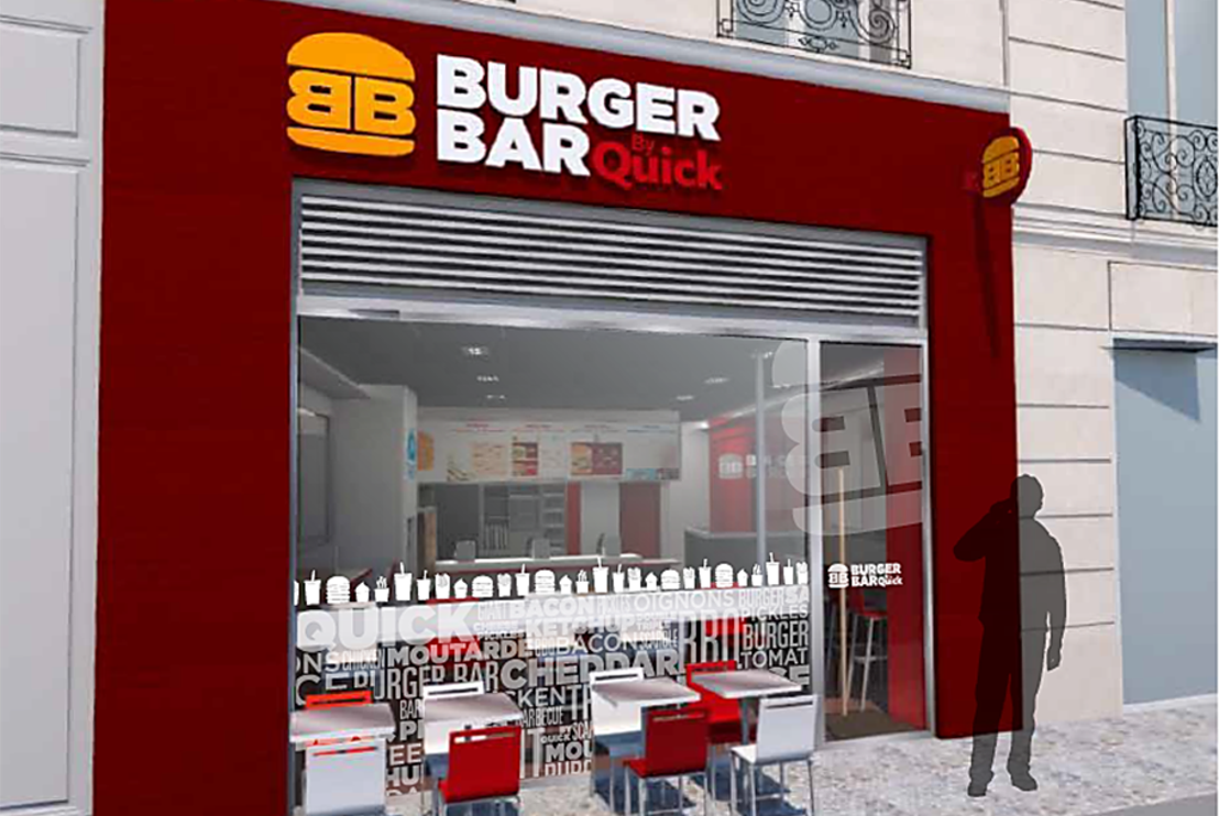QUICK LANCEERT « BURGER BAR BY QUICK »