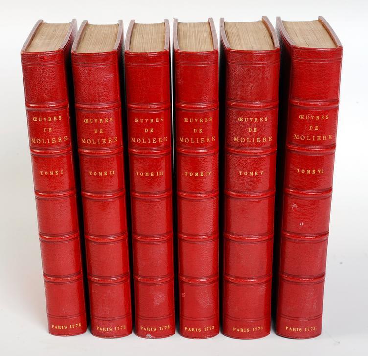 Oeuvres de Molière, avec des remarques grammaticales; des avertissements et des observations sur chaque pièce, par M. Bret, Paris (Compagnie des Libraires Associés), 1773 (c) François Guénet / akg-images