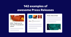 How to craft a killer Press Release (with 142 examples)