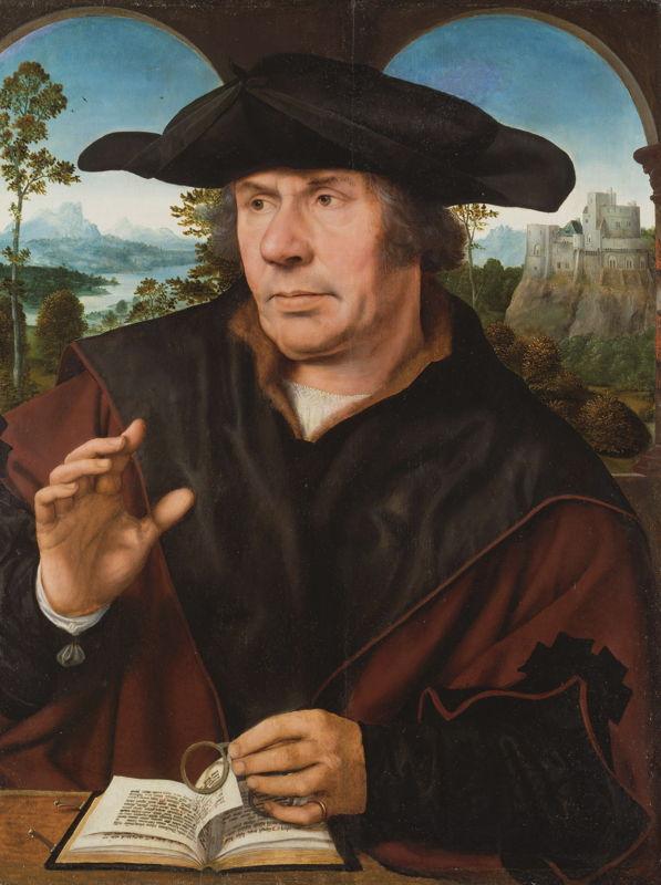 In Search of Utopia © Quinten Metsys, Portrait of a Scholar, c. 1522/27. Frankfurt am Main, Städel Museum.