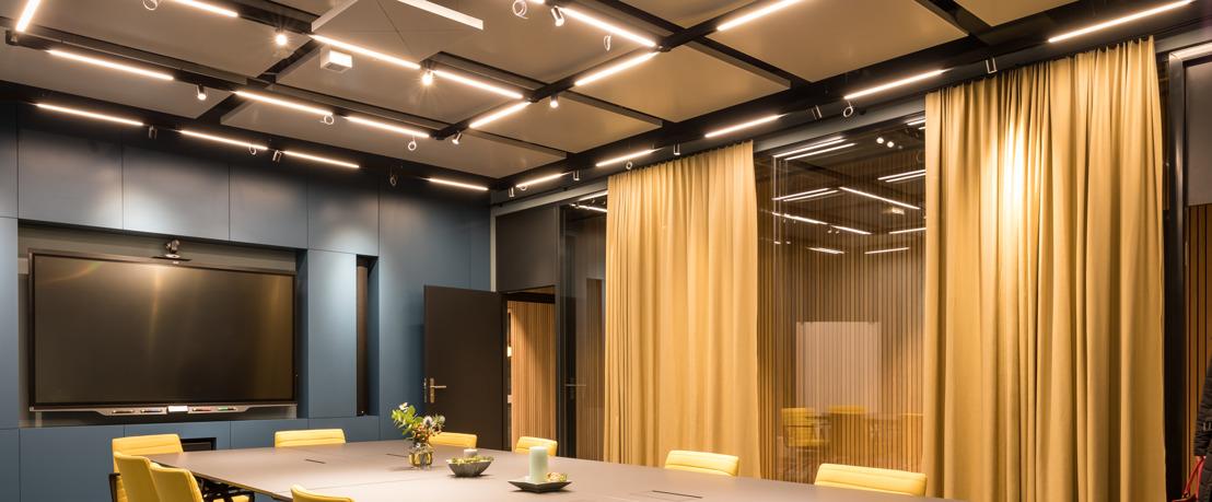 Coworking Lounge in Zurich Deploys Sennheiser TeamConnect Ceiling 2