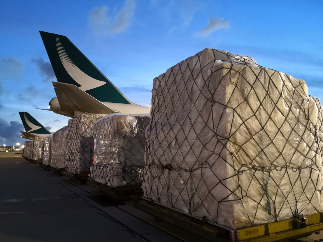 Cathay Pacific Cargo delivers medical supplies for India's healthcare emergency