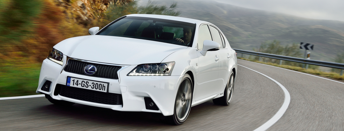 Lexus GS 300h is Restwaardekampioen 2014 in Duitsland