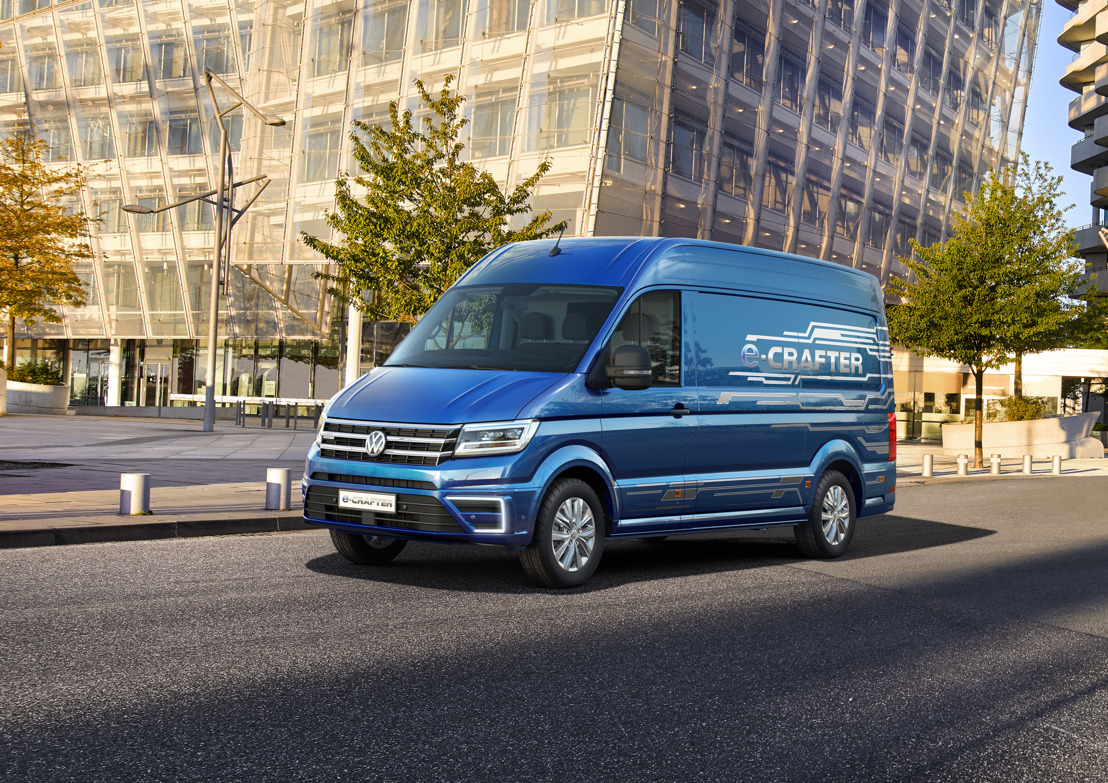 The highlight of this year's IAA Commercial Vehicles: the new e-Crafter