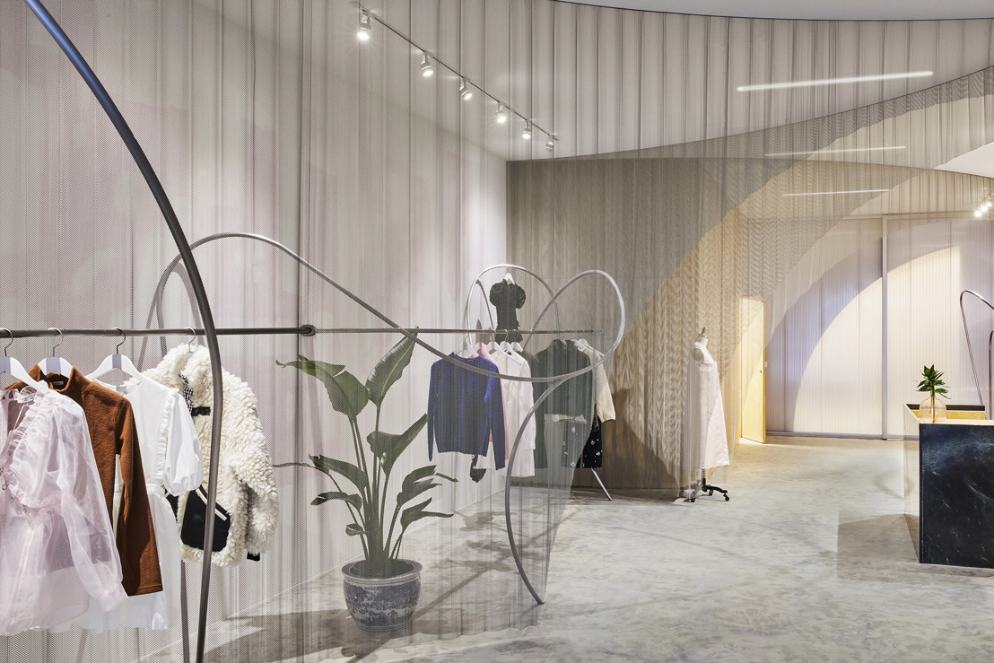 Almost Studio Designs New Flagship Boutique for Sandy Liang on New York's Lower East Side
