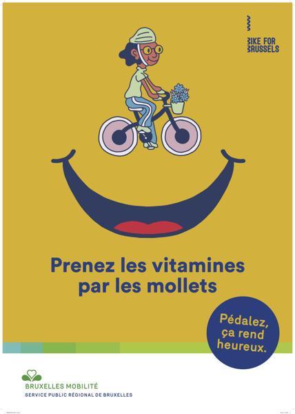 Preview: Mortierbrigade donne le sourire avec Bruxelles Mobilité et Bike for Brussels