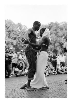 African Dancers_Central Park New York 2003