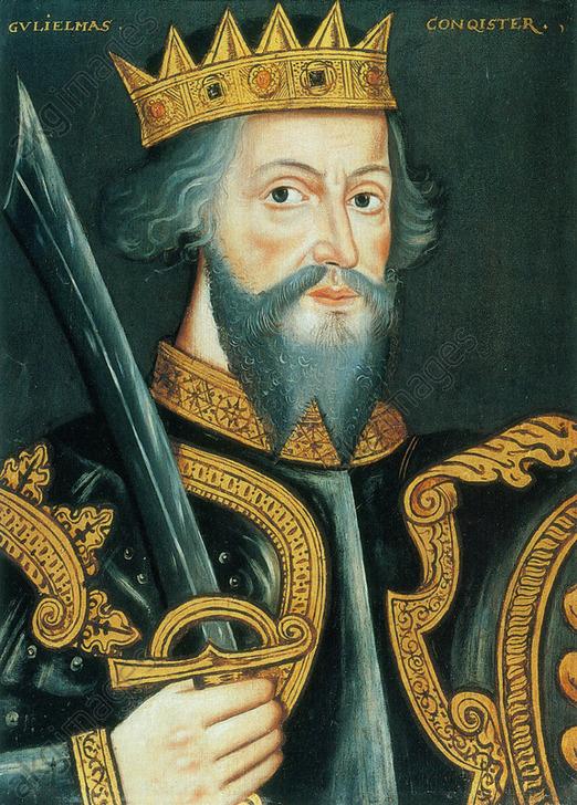 Posthumous portrait of William the Conqueror by unknown artist, circa 1620. <br/>AKG5461143