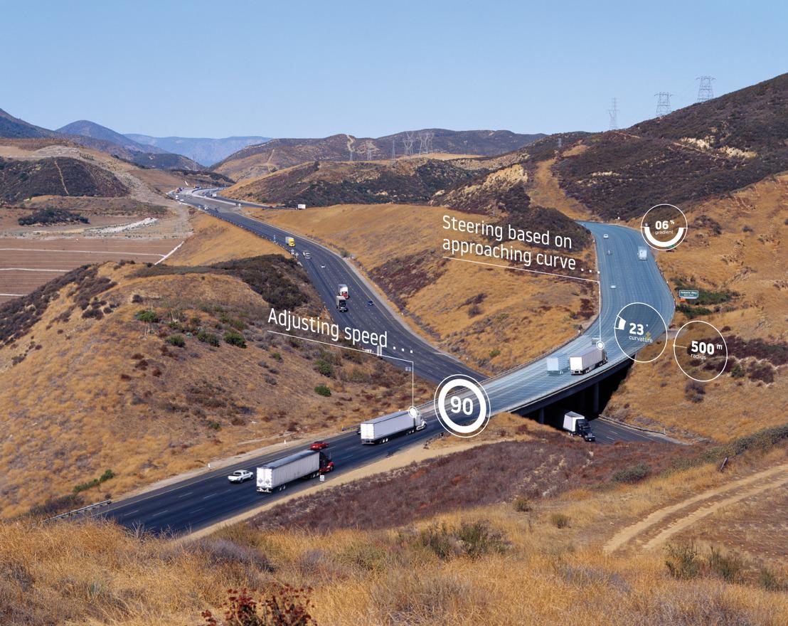 La cartographie TomTom permet aux poids-lourds d'économiser du carburant