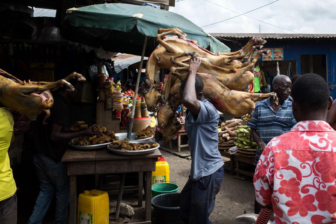 Beroepen zonder grenzen: West-Vlaamse slagers in Ghana<br/>(c) VRT