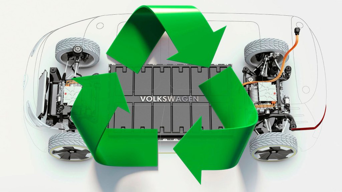Para el reciclado de las baterías de los VE, Volkswagen piensa anticipadamente en el final del camino