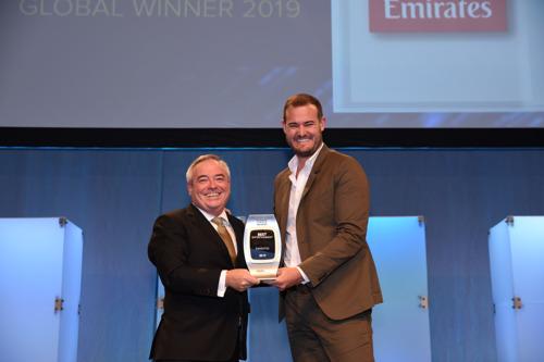 Emirates wins second consecutive Best Entertainment award at APEX 2019 Global Passenger Choice Award