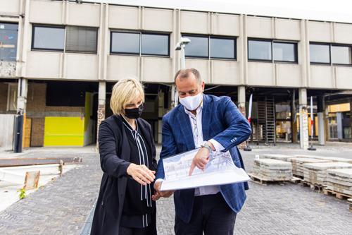Regionale winkelstad Waregem toont hoe Vlaanderen leegstand kan aanpakken