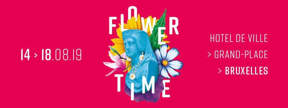 La crème des fleuristes internationaux décore l'Hôtel de Ville de Bruxelles