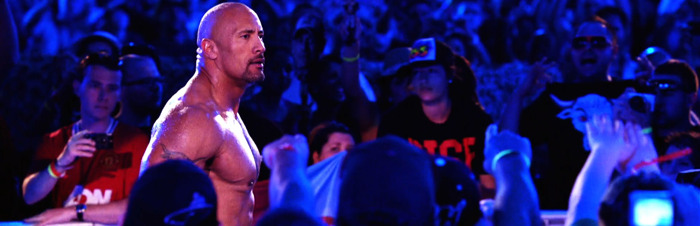 Dwayne The Rock Johnson maakt comeback in WWE: Smackdown op ZES