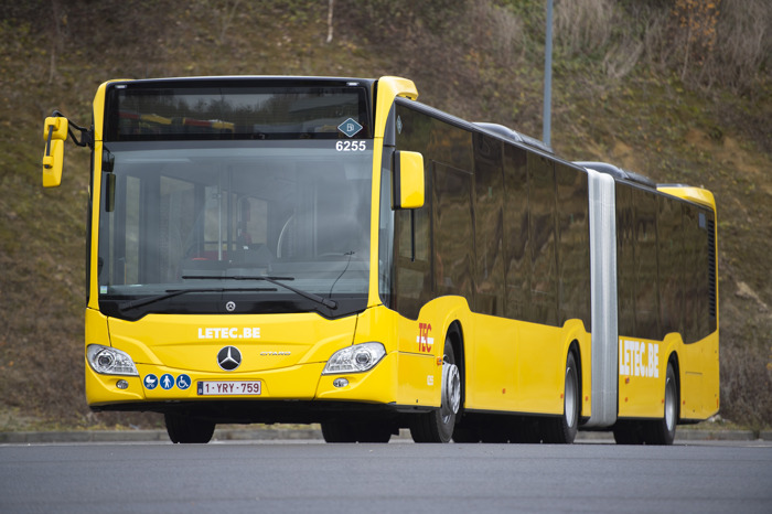 Les nouveaux bus articulés sont arrivés !
