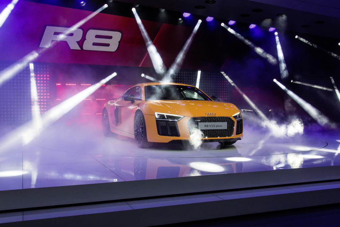Audi met zeven wereldpremières in Genève
