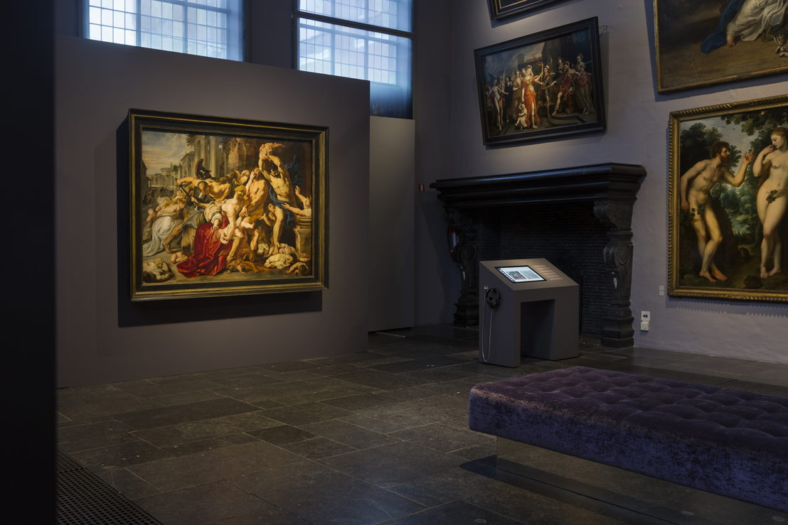 Image name: 3_Rubens, Massacre at the Rubens House, The Thomson Collection at the Art Gallery of Ontario, Arg Gallery of Ontario, photo Ans Brys.jpg