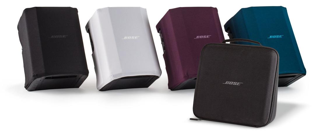 Nuevos, coloridos y resistentes accesorios para la línea portátil de Bose Profesional