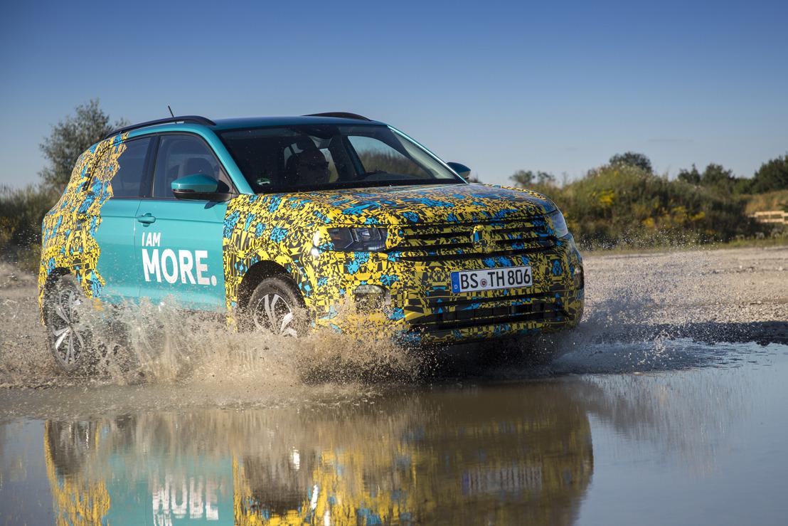 Photoshooting - De T-Cross, een nieuw formaat voor Volkswagen