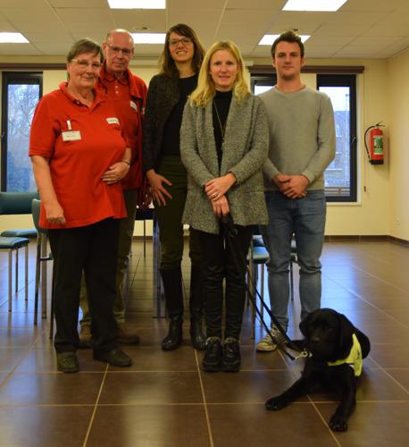 Tubize: Des employés de Leffe rendent visite à des personnes âgées