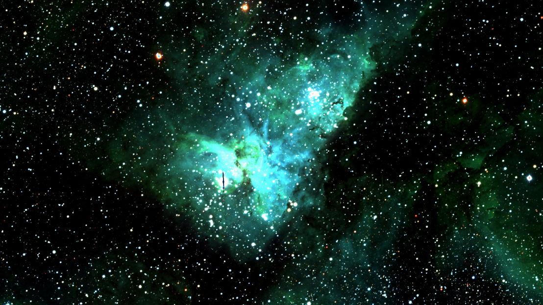 Eta Carinae. Image credit: ANU SkyMapper
