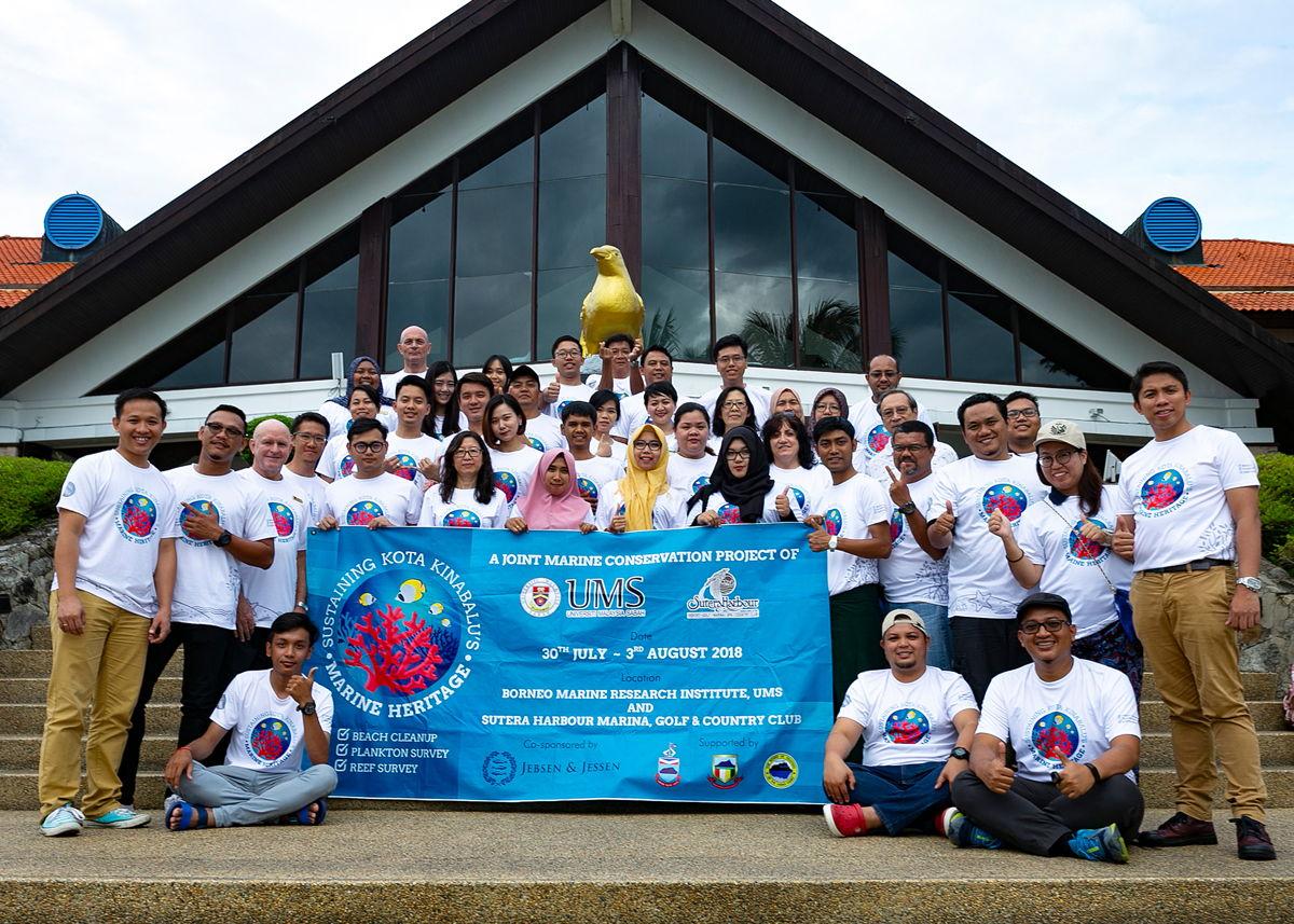 Our 'eco heroes' who helped preserve Kota Kinabalu's marine heritage.
