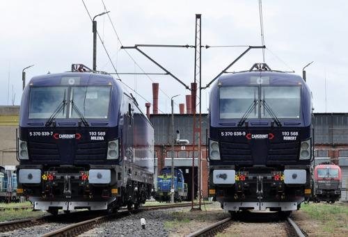 Cargounit commande jusqu'à 30 locomotives à Siemens Mobility