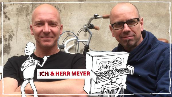"""2015 entschieden sich die beiden Väter die produzierten Kindersongs unter dem deutschen Namensvetter """"ICH & HERR MEYER"""" zu veröffentlichen. Copyright: ICH & HERR MEYER"""
