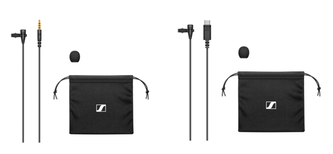 XS Lav Mobile (TRRS-aansluiting)                                                         XS Lav USB-C