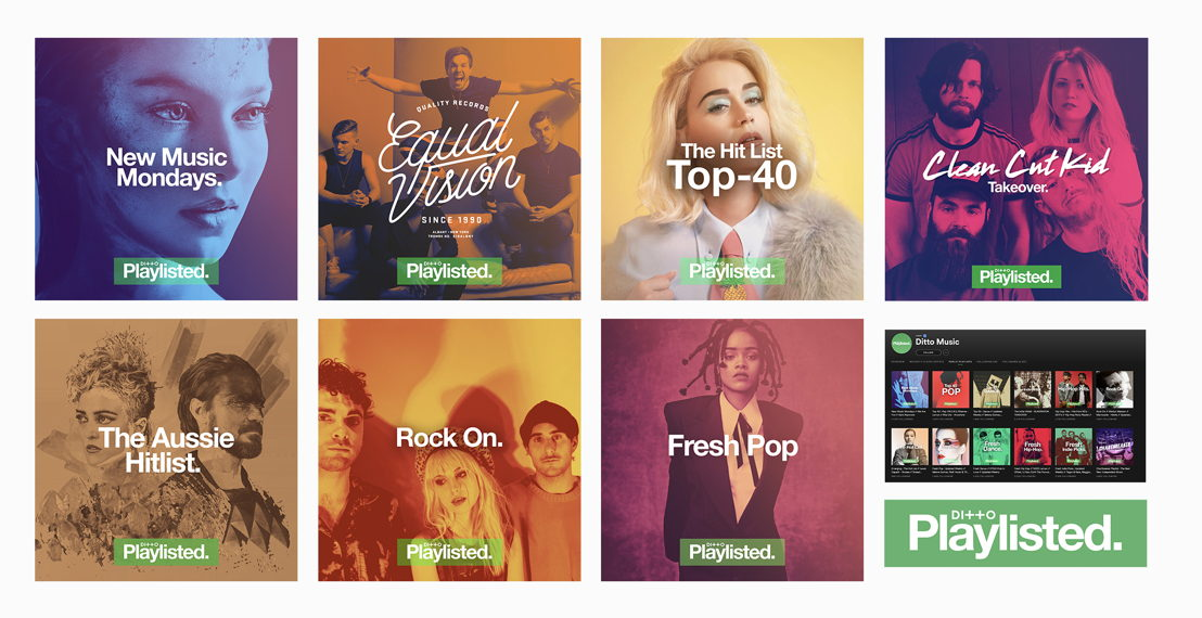 Ditto Music Playlisted