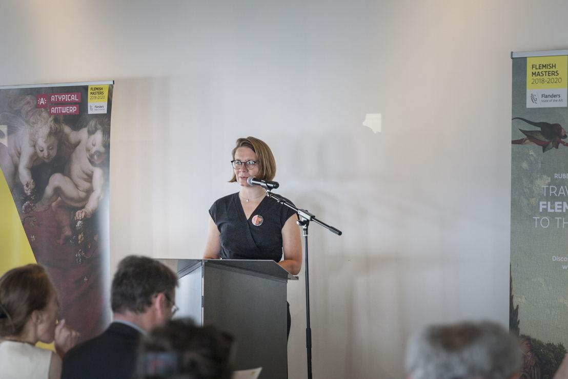Karen Vandenberghe, projectcoördinator 'Antwerpen Barok 2018. Rubens inspireert.', photo Ans Brys