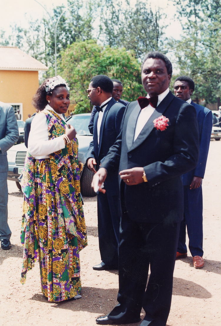 Agathe Kanziga en Juvenal Habyarimana