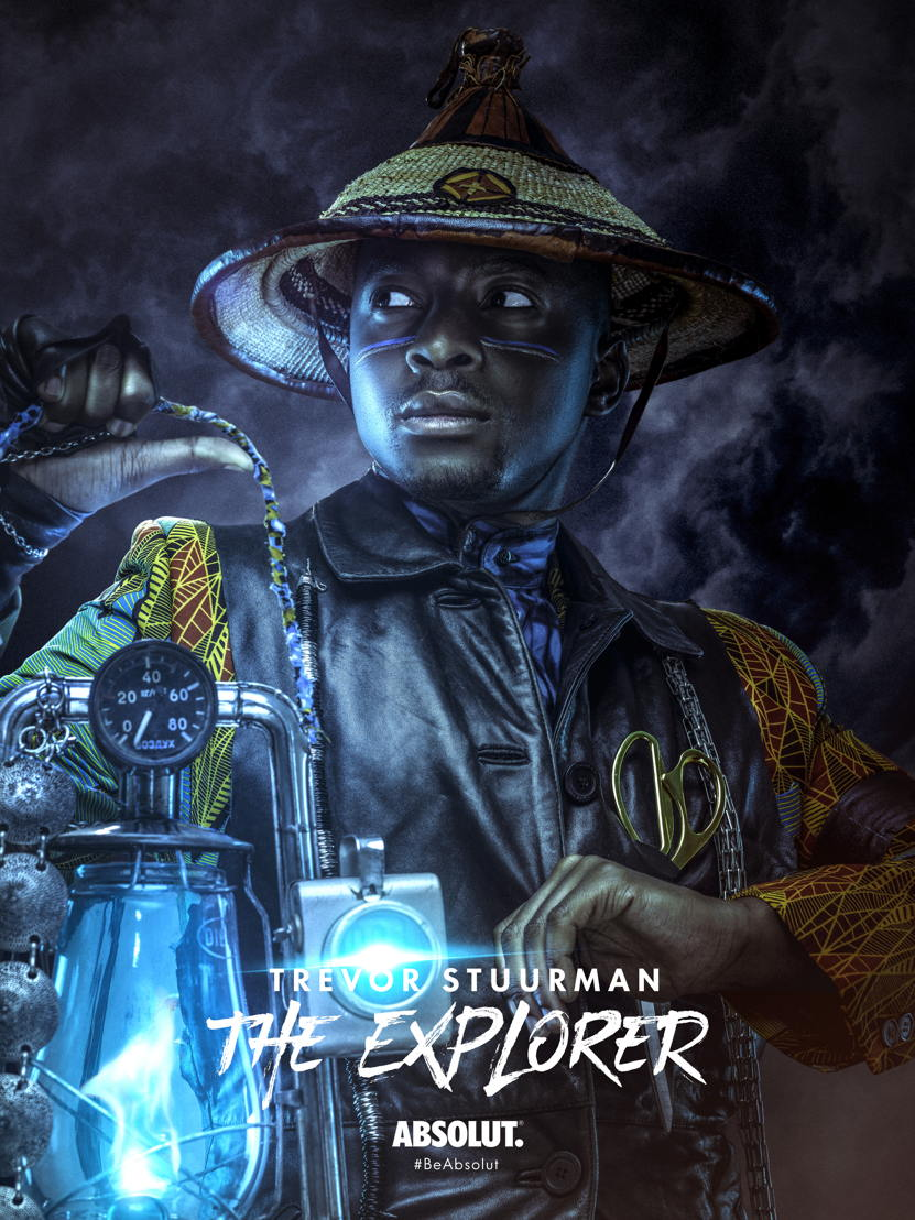 Trevor Stuurman - The Explorer (with title)