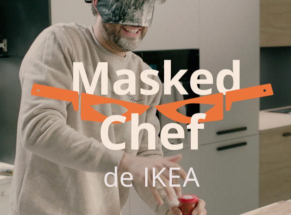 IKEA met les cuisiniers et les cuisines à l'épreuve dans Masked Chef