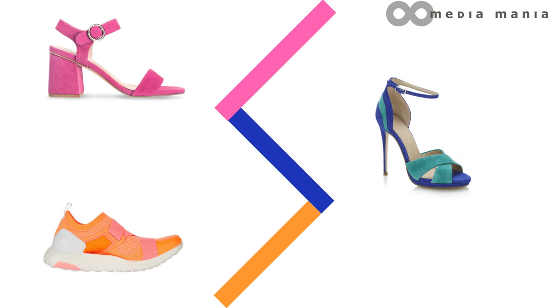 Trend Women Shoes SS18: Colorblocking