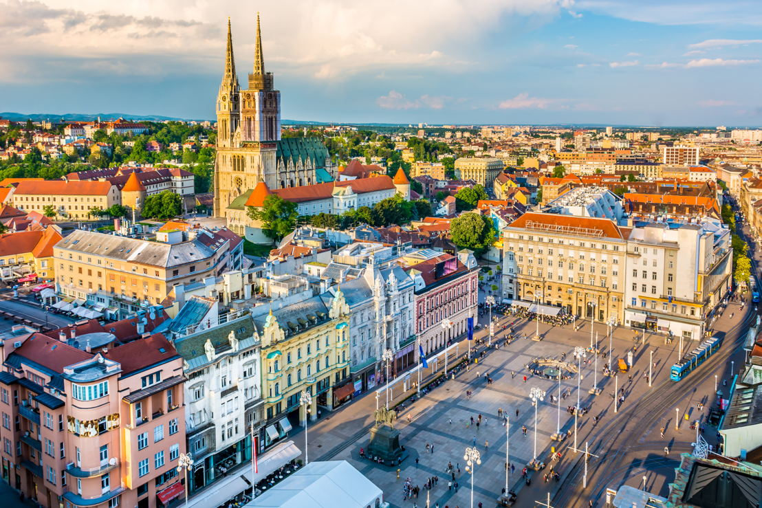 Zagreb, Croatia - the latest route to be added to the Emirates network