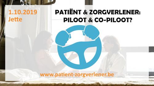 Symposium 'Patiënt & zorgverlener: piloot & co-piloot?'