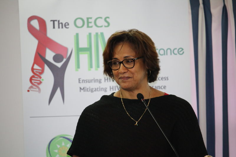 Ms. Valerie Wilson, Director of the Caribbean Med Labs Foundation.