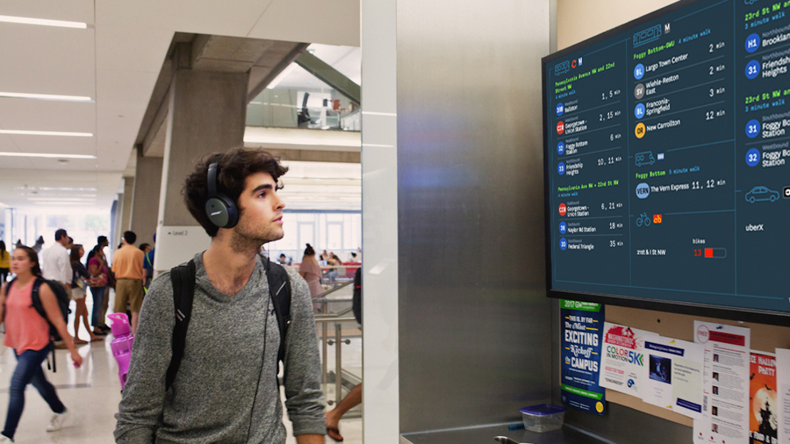 Información a la medida para la movilidad urbana inteligente, Panasonic une fuerzas con TransitScreen