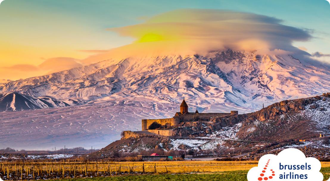 Brussels Airlines zet koers naar Armenië