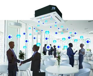 Aire limpio, bienestar y ahorro de energía, las claves de Panasonic en climatización comercial