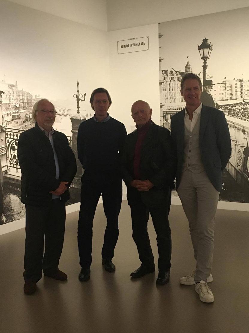vlnr: Jacques Dubrulle, Phillip Van den Bossche, Raoul Servais, Peter Craeymeersch