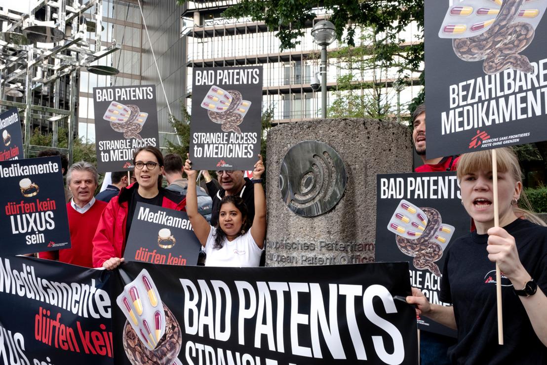Decepción con la decisión de la Oficina Europea de Patentes de mantener la patente de Gilead Sciences sobre el sofosbuvir