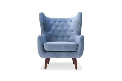 Craig chair - Velour Shadow Blue