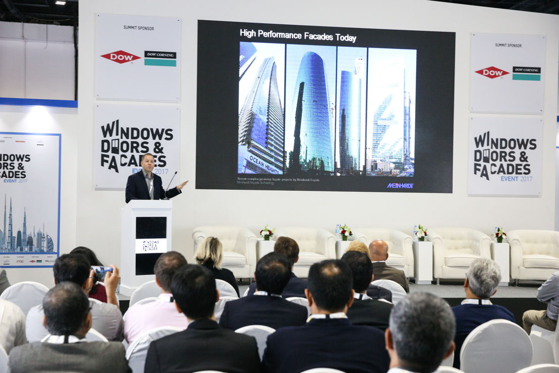 Educational session at the Middle East Facades Summit (Windows, Doors & Facades Event 2017)