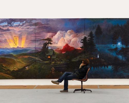 Friedrich Kunath bij Tim Van Laere Gallery