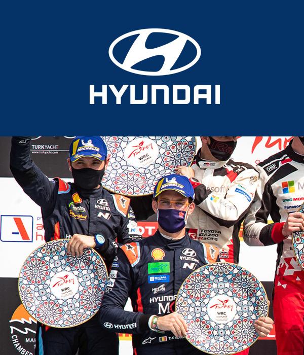El equipo de Hyundai Motorsport obtiene doble podio en Turquía